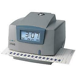 Pyramid Time Systems 3500 Time Clock Document Stamp