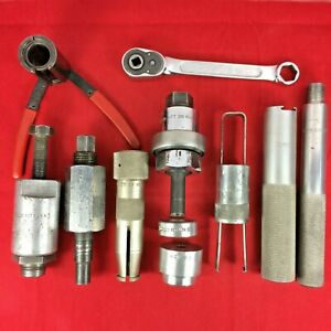 Snap On 13 Pcs A C Air Conditioning Service Set R71 2010b Act B 1960s 1970s Gm