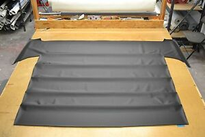1964 64 1965 65 1966 66 Plymouth Barracuda Fastback Black Perforated Headliner