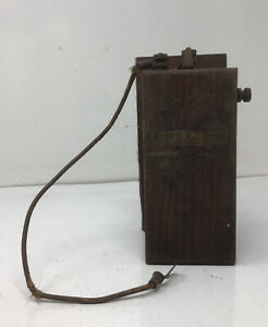 Vintage Detroit Coil Company Hit Miss Engine Buzz Coil Free Ship Untested