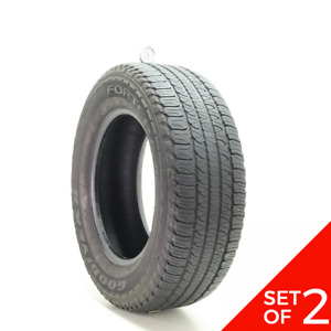 Set Of 2 Used 245 65r17 Goodyear Fortera Hl 105t 6 7 32