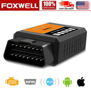 Foxwell Nt644 Elite Auto Diagnostic Tool Obd2 Scanner All System Code Reader Abs