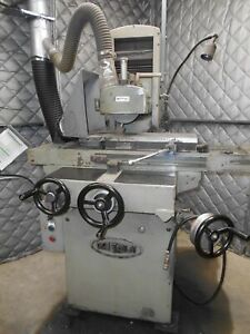 8 X 18 Mitsui Precision Hand Feed Surface Grinder Model Msg 250m