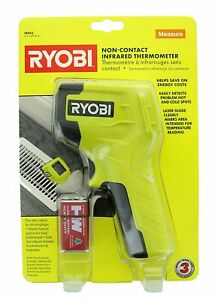 sealed Ryobi Non contact Infrared Thermometer Ir002 W Battery