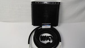 Automatic Transmission 6x11 Cooler Line Kit 6an Black Braided Hose Th350 400