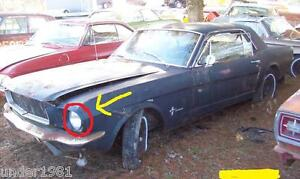 1965 1966 Ford Mustang Coupe Used Left 1 4 Window Glass Assembly Project Parts