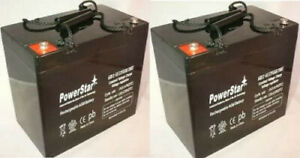 12v 55ah Pride Mobility Jazzy 600 600 Xl 614 614hd Battery 2 Pack