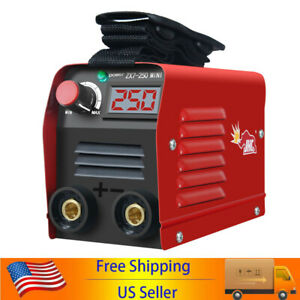 Zx7 250 250a Mini Electric Welding Machine Dc Igbt Inverter Arc Mma Stick H0t1