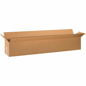 36 X 6 X 6 Long Cardboard Corrugated Boxes 65 Lbs Capacity Ect 32 Lot Of