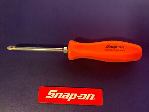 Snap on Phillips Screwdriver Sddp42 Orange Handle 8