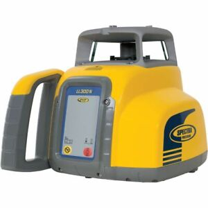 Spectra Precision Ll300n 8 Self Leveling Laser Level With Hr320 Receiver