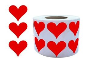 Heart Sticker Roll 3 4 Inch For Party Supplies Gift Boxes Arts Crafts 19mm