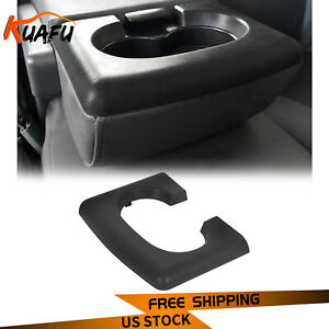For 2004 14 Ford F150 Center Console Cup Holder Armrest Pad Replacement Black