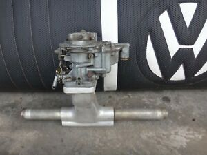 Vw Progressive Weber 32 36 Fav With Scat Intake And New Carb Kit