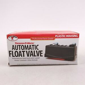 Little Giant Trough o matic Tm825 Water Tank Automatic Float Valve