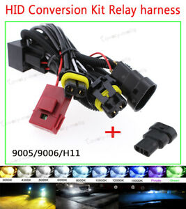 Car Hid Anti Relay Wiring Harness For Xenon Conversion Kit H11 H9 9005 9006 Hb4