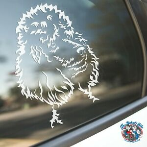 Poodle Sticker Dog Car Decal Poodles Standard Toys Miniature Dogs Silhouette