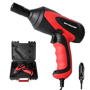 Getuhand Car Impact Wrench 1 2 Inch 12 Volt Portable Electric Impact Wrench