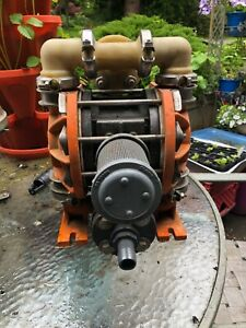 Wilden Air Operated Double Diaphragm Pump With Muffler