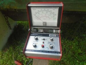 Snap On Cylinder Shorting Ex Anded Scale Tachometer Mt460