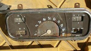 1937 Chevy Master Deluxe Instrument Cluster H