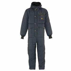 Refrigiwear Men s Iron tuff Insulated Coveralls With Hood 50f Cold Protection