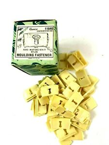 Box Of 48 Moulding Fasteners Fits 1974 1977 Ford Mustang Ii D4zb 6910182 Ab