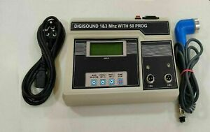 Physiotherapy 1mhz And 3mhz Ultrasound Therapy Pain Recovery Therapy Unit