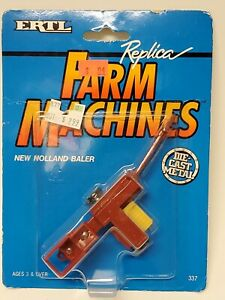 Ertl 1993 Farm Country New Holland Square Baler Implement 337 New Sealed