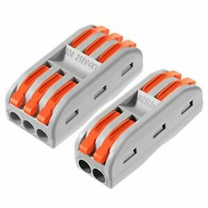 Push in Terminal Block Wire Connector 1set 20 Pcs