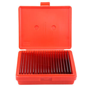 20 Pair 1 32 Steel Parallel Set Parallels 00001 Hardened Ultra Thin W Case