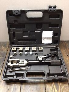 Mastercool 37 Degree Flaring And Double Flaring Hydraulic Tool Kit Read