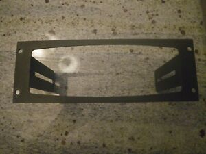 Jotto Console Face Plate 425 6117 Dash Mount Only Motorola Xtl2500