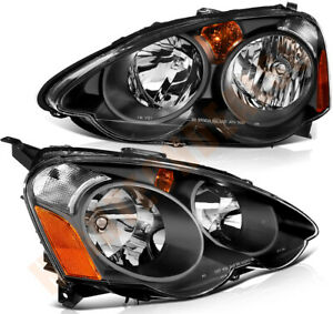 Headlights Assembly Fit For 2002 2004 Acura Rsx Front Light One Pair Replacement
