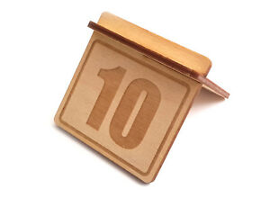 Origin Wooden Table Numbers pack 1 10 Signs For Restaurants Bars And Cafes