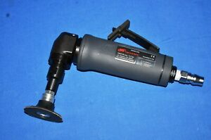 Ingersoll Rand Pneumatic Right Angle Die Grinder 1 4 Collet Model G1a120rg4