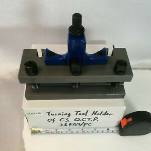 2 Pcs Cd32150 Turning Tool Holder For C3 c 40 Position Multifix Tool Post