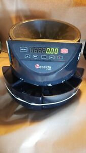 Cassida C100 Electronic Coin Sorter Counter Led Display Working