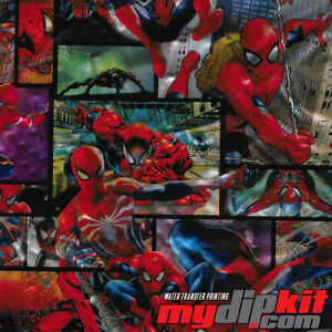 Hydrographics Film Hydro Dipping Water Transfer Printing Spiderman Dd918