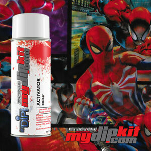 Hydrographics Activator Hydro Dipping Film Combo Spiderman 918