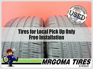 Set Of 2 Pirelli Cinturato A S Rft Xl 225 40 18 Used Tires 63 Rmng 2254018