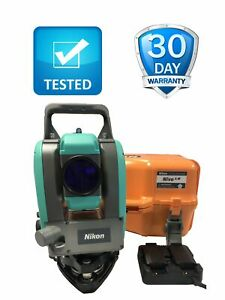 Nikon Nivo 5 m 5 Dual Face Total Station Prism Reflectorless 5m Tested Workin