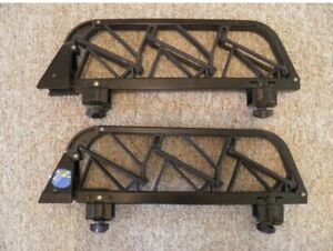 Thule 1050 33 Angled 3 Pair Ski Carrier Roof Rack Square Bar Mounts