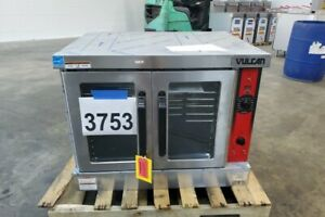 3753 New S d Vulcan Full Size Gas Convection Oven With Legs Model Vc4gd nat