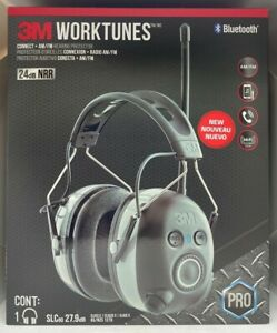 3m Worktunes Connect Am fm Hearing Protector W Bluetooth Pro