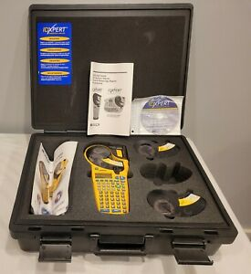 Brady Idxpert Handheld Labeler Maker With Case Tested 10 10 Mint Condition