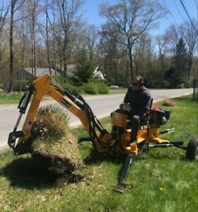 2019 Towable Backhoe By Betstco Start Your Own Business Less Than 50 Hours