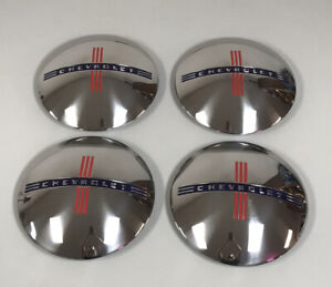 1940 Chevrolet 1 2 To 3 4 Ton Truck Hubcaps Set Of 4
