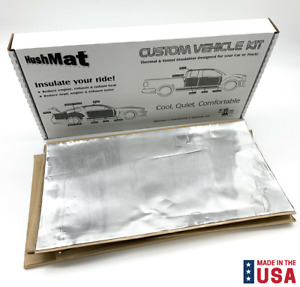 Hushmat Complete Floor Thermal Insulation Kit For 1964 1966 Ford Mustang