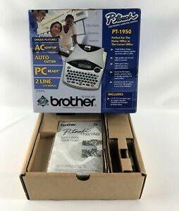 Brother P touch Pt 1950 Electronic Labeling System